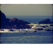Let the rhythm of the sea heal you Photographic Print