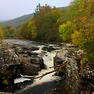 River Moriston Falls by Chuck Zacharias