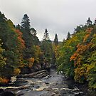River Moriston by Chuck Zacharias