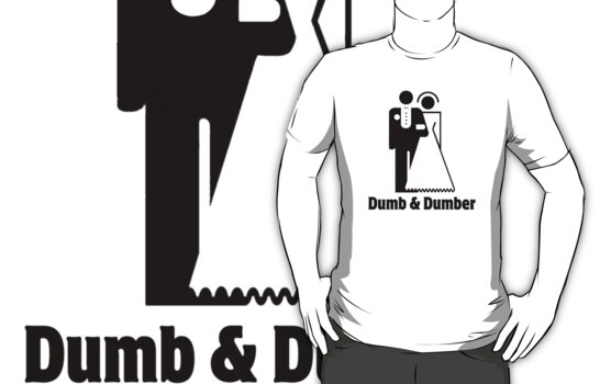 Dumb & Dumber Bride Groom Wedding by gleekgirl