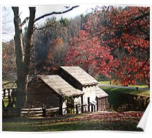 Mabry Mill in the Fall~ Poster