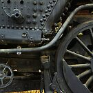 Black Train Wheels by Larry3