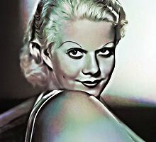 JEAN HARLOW. by Terry Collett