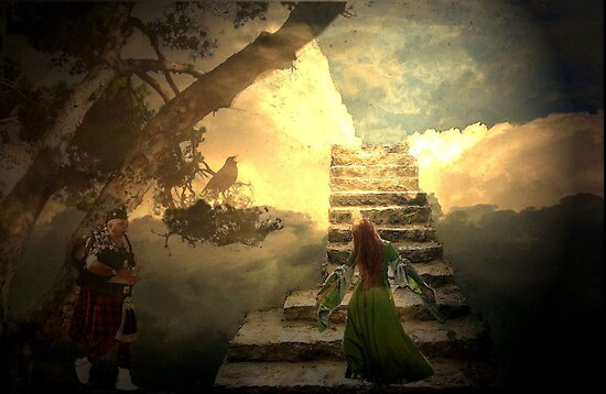 Stairways to heaven after Led Zeppelin by Marie Luise  Strohmenger