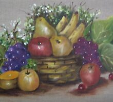 FRUIT BASKET by ISABEL ALFARROBINHA