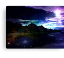 Dreaming of the Moon Canvas Print