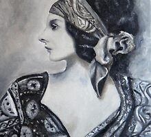 Gypsy woman by MadeleineKotze