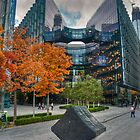 City Gold - London Autumn by DonDavisUK