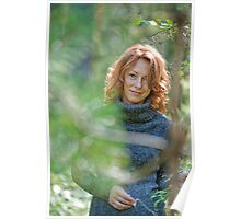 Portrait in nature Poster