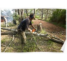 Chainsawing Poster