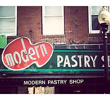 Boston's Modern Pastry Shop Photographic Print