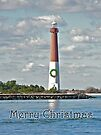 Barnegat Lighthouse - New Jersey - Christmas Card by MotherNature