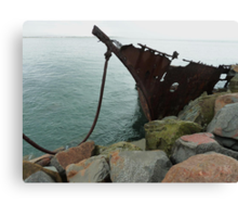 Adolphe (built 1902 - wrecked 1904) Canvas Print