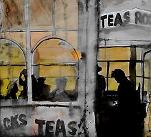the tea room by Loui  Jover
