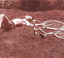 Resting Biker by dbclemons