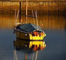 Fisherrow Harbour in Musselburgh by Nik Watt