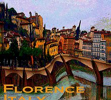 Wacky Florence, Italy by Ginny Luttrell