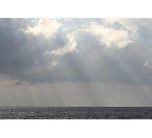 Hawaiian Storm Clouds Photographic Print