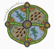 Aboriginal Mandala #2 by Mandala's World