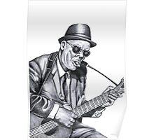 Guitar man Poster