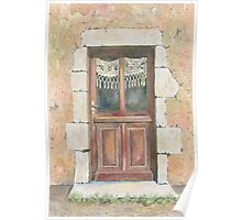 Door, Chez Bourret, France Poster