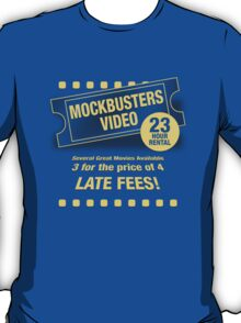 Mockbusters Video T-Shirt