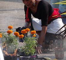 Indian ceremony - All Souls' Day III by Bernhard Matejka