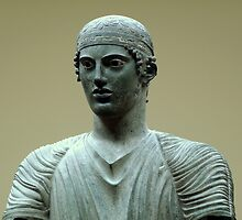 The Charioteer of Delphi by HELUA