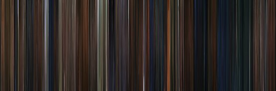 Moviebarcode: Harry Potter and the Chamber of Secrets (2002) by moviebarcode