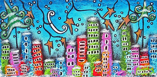 Winter In The City by Juli Cady Ryan