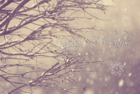 Happy Holidays! by ©Maria Medeiros