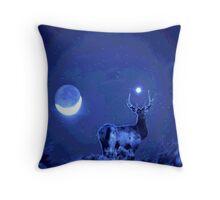 Universal Elk Throw Pillow