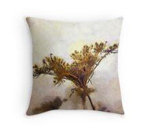 Dried flower art Throw Pillow