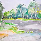 Huntsville State Park watercolor by katyork17