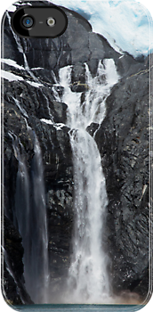 i Alaskan Falls by Gary L   Suddath