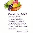 Healthy Fruit: Galatians 5:22-23 by Diane Hall