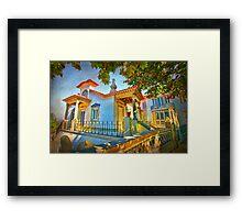 Dream home Framed Print
