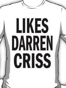 Likes Darren Criss T-Shirt