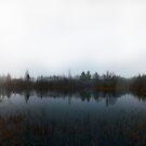 Autumn Lake Panorama by SunDwn