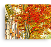 South End Canvas Print