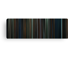 Moviebarcode: Harry Potter and the Goblet of Fire (2005) Canvas Print