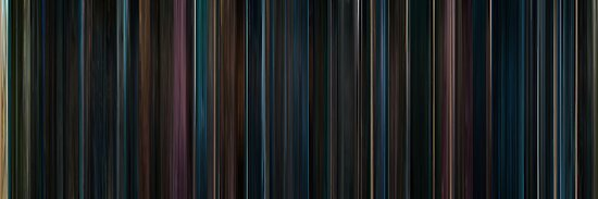 Moviebarcode: Harry Potter and the Order of the Phoenix (2007) by moviebarcode