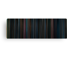 Moviebarcode: Harry Potter and the Order of the Phoenix (2007) Canvas Print