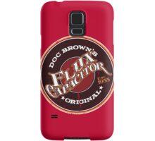 Doc Brown's Flux Capacitor Samsung Galaxy Case/Skin