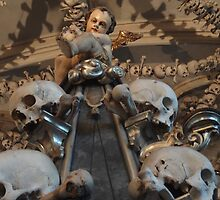 Sedlec Ossuary or Bone Church in Kutna Hora in the Czech Republic by ArkhamNightmare