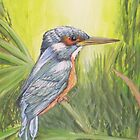 """Kingfisher"" by Debbie Hetzel/Piro"