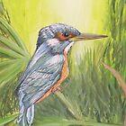 """""""Kingfisher"""" by Debbie Hetzel/Piro"""