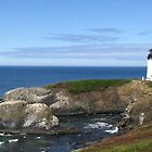 A View of Yaquina Head Lighthouse by HapaCanuck