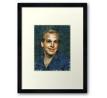 Abstract John Framed Print