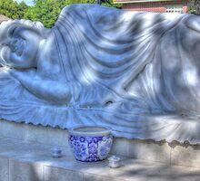 Sleeping Buddha HDR by Dreebs